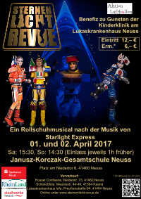 Plakat Neuss April 2017