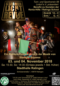 Plakat Auftritt November 2018 Ratingen